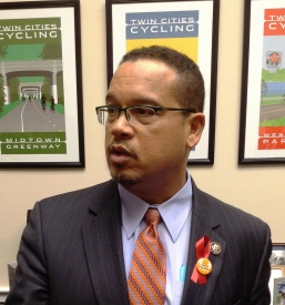 Keith Ellison, first Muslim elected to U.S. Congress.