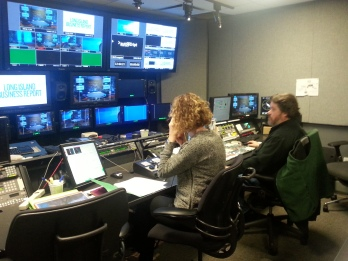 Control room of WNET- PBS