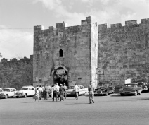 UNEF Troops in the old city of Jerusalem - UN photo/ 1959