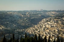 A general view of the old city of Jerusalem - UN photo/ 2013