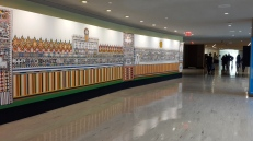 The exhibition is located at East Lounge, United Nations Headquarters in New York